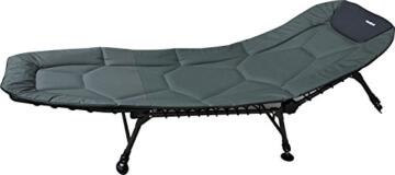 Angelspezi Liege 6-Bein Luxus Comfort Karpfenliege Stahl -