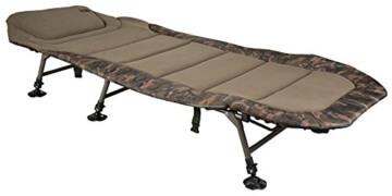 Fox Royale Camo Bedchair XL Karpfenliege, Angelliege zum Karpfenangeln - 2