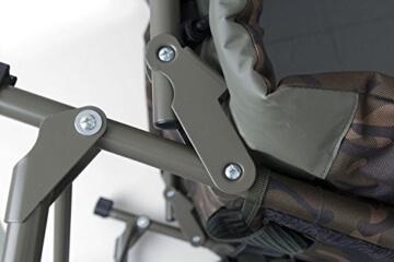 Fox Royale Camo Bedchair XL Karpfenliege, Angelliege zum Karpfenangeln - 4