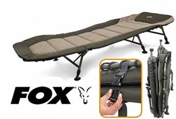 Fox Warrior 3-beinige Bettliege, leichtgewichtige Karpfenliege, Stuhl