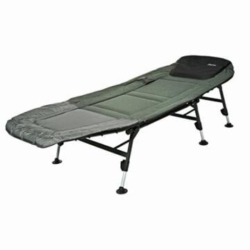 Karpfenliege Campingliege mit verstellbaren Beinen -
