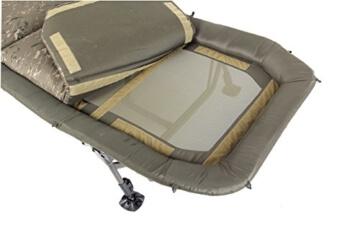 Nash Indulgence Air Bed 3 Wide Bedchair Karpfenliege