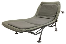 STRATEGY Secretist Bedchair Karpfenliege mit Fleece Matras 6-beinig - 1